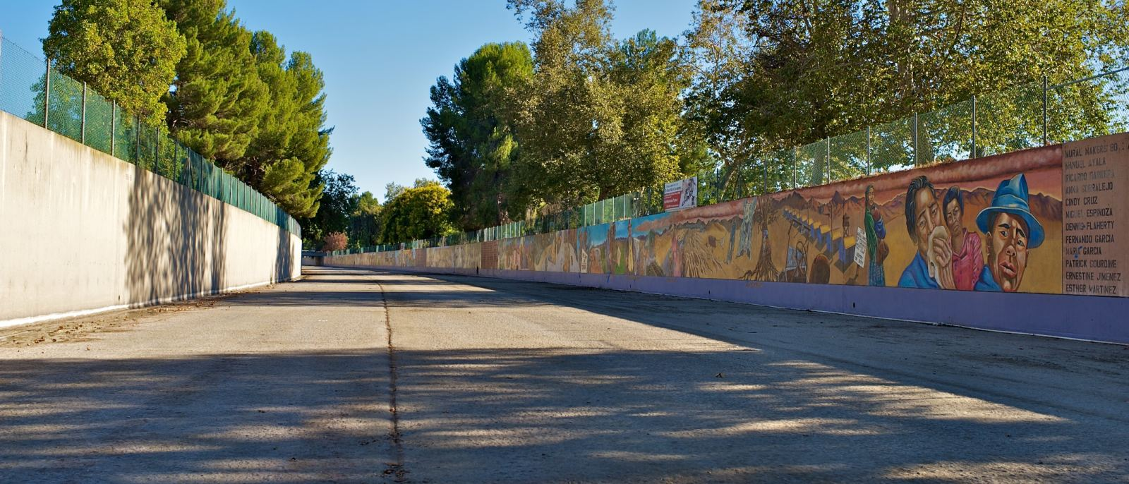 The Great Wall of Los Angeles in Valley Glen