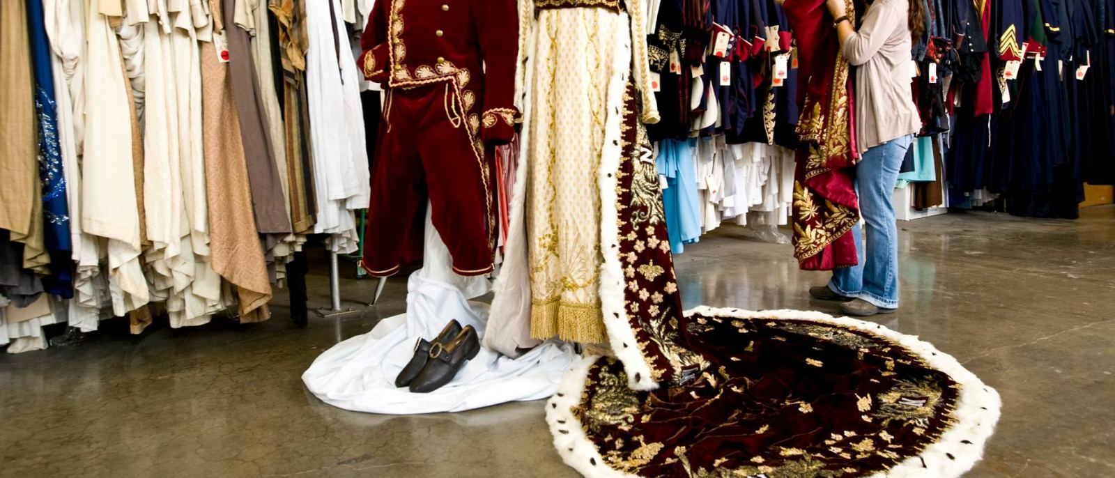 Napoleonic costumes at Western Costume Company