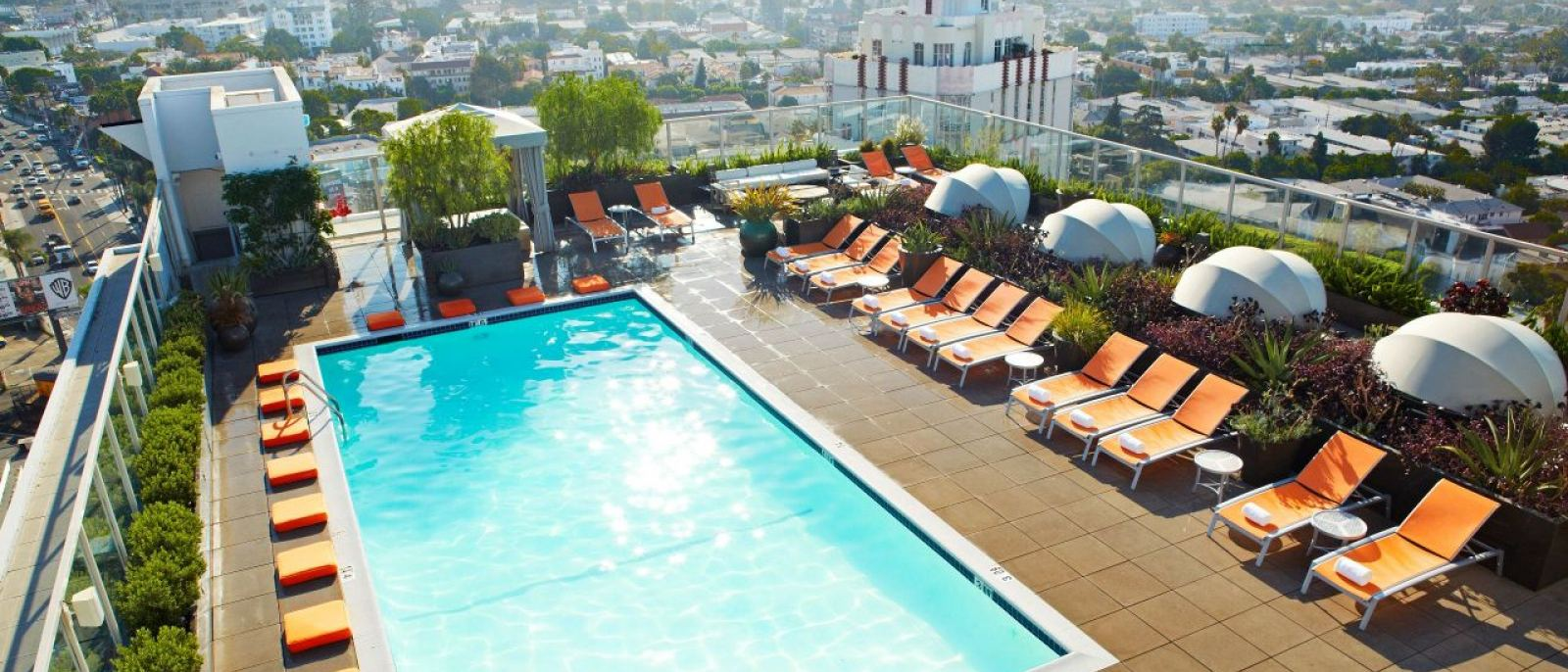 The Sundeck at the Andaz West Hollywood