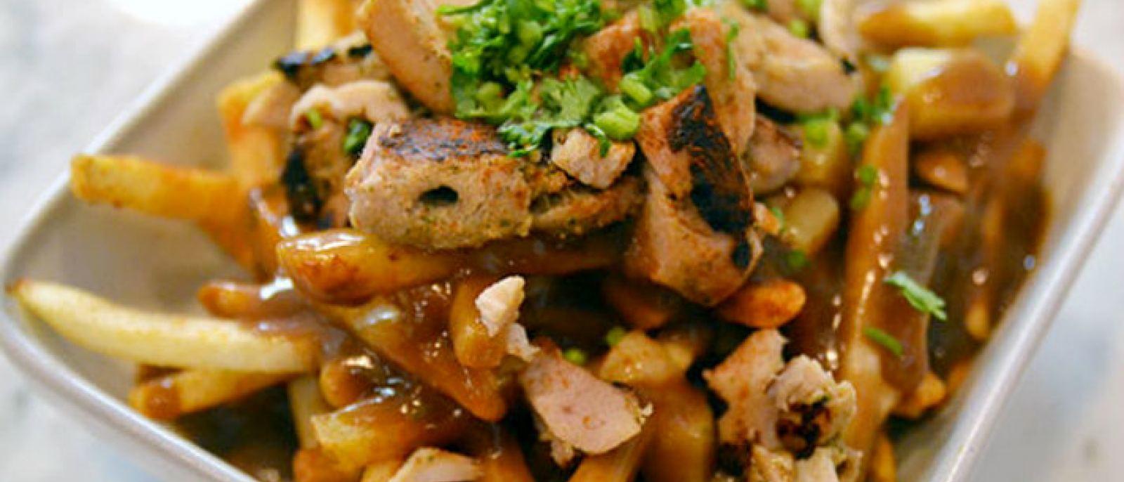 Chicken tikka poutine | Photo courtesy of Badmaash