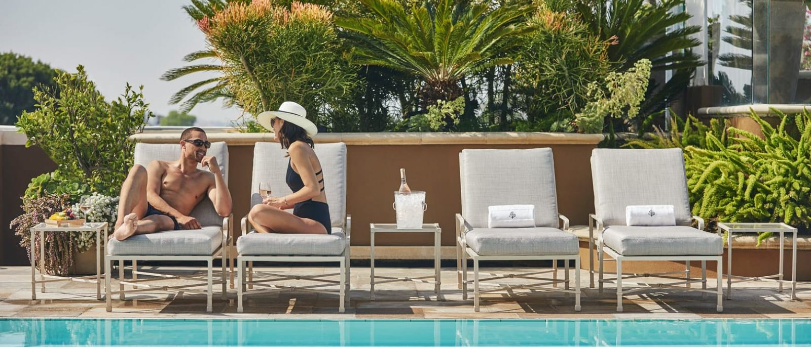 Upper Pool Deck | Photo: Four Seasons Los Angeles at Beverly Hills