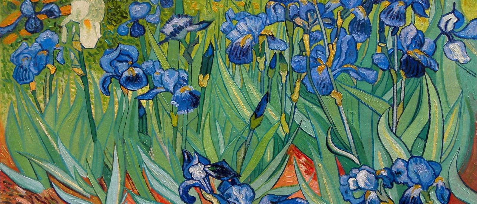 Irises Van Gogh Getty