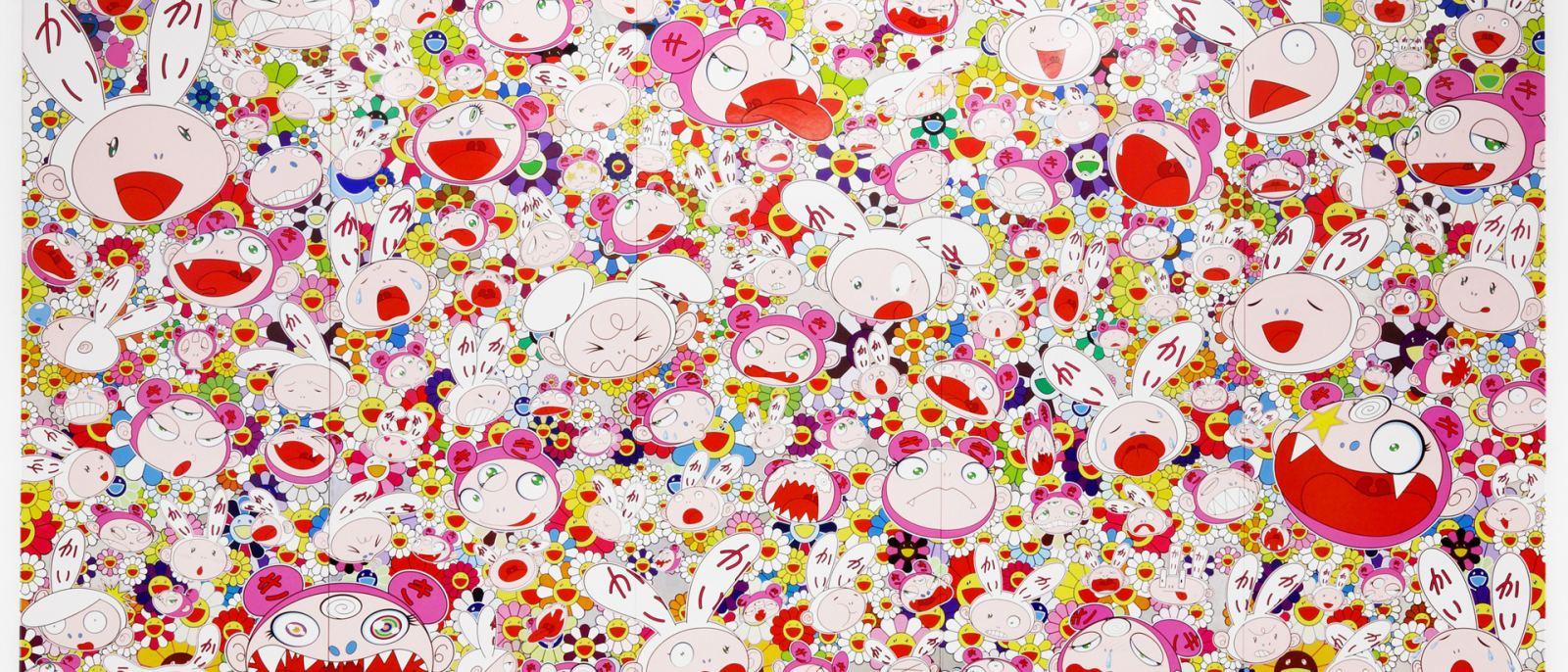 Murakami Hustle Punch The Broad