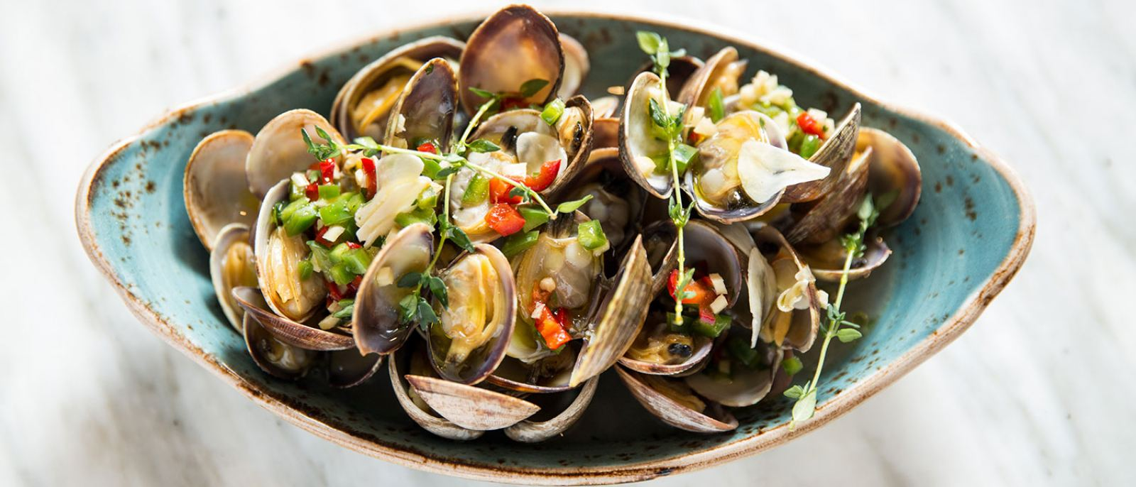 FIG Santa Monica Wood Smoked Manilla Clams