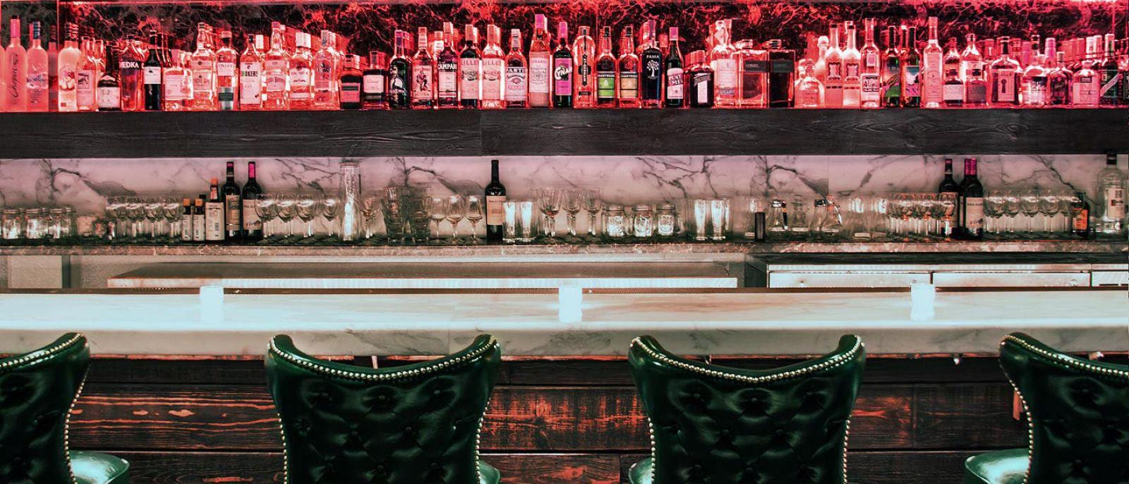Bar at Lock & Key in Koreatown
