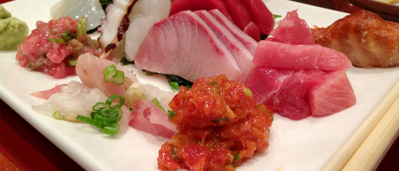 Sashimi lunch special at Sushi Gen | Photo by Stacey Sun