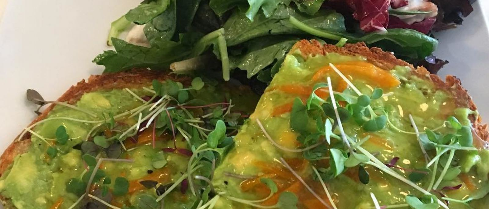 Kumquat avocado toast at Sweetsalt | Instagram by @avocadokale