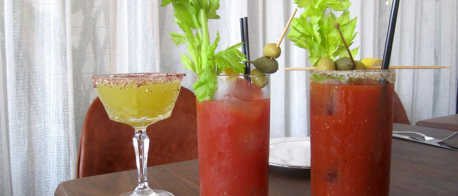 Bloody Marys at The Tasting Kitchen