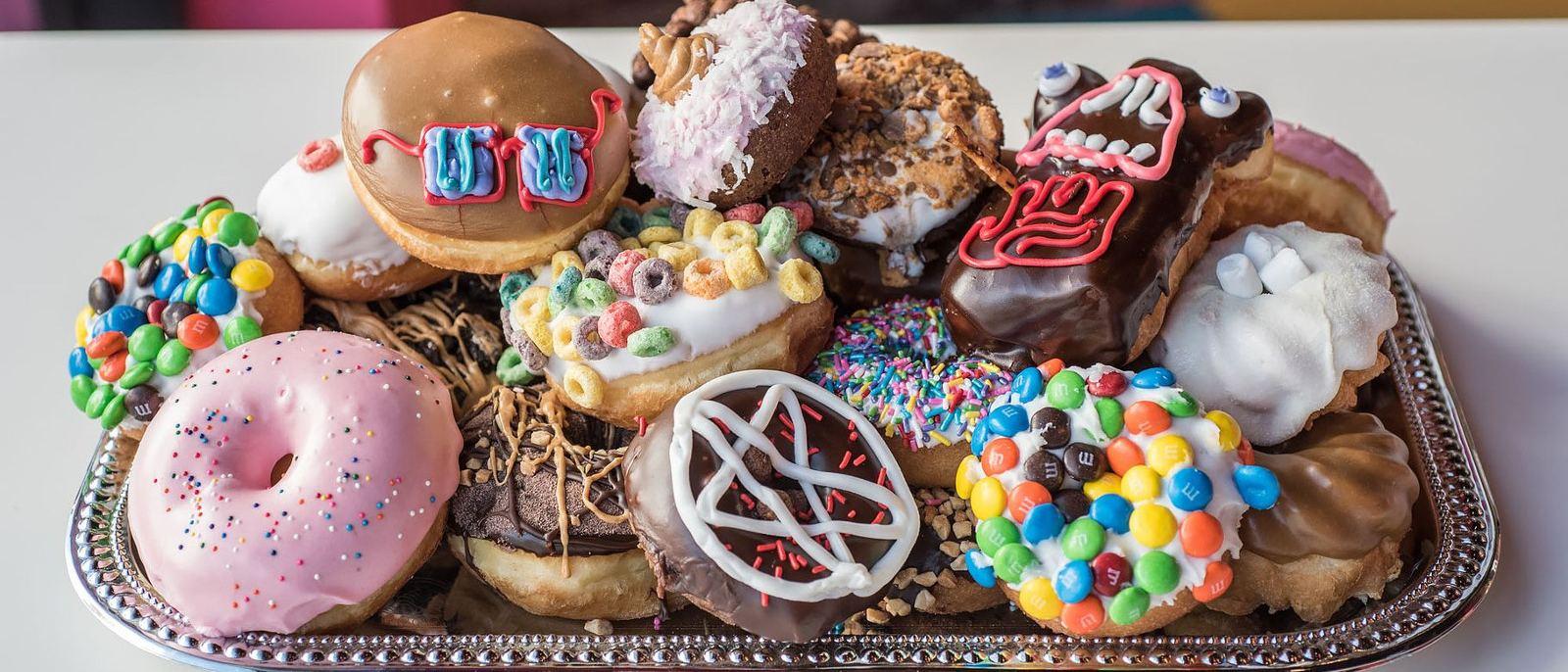 Voodoo Doughnut Tray