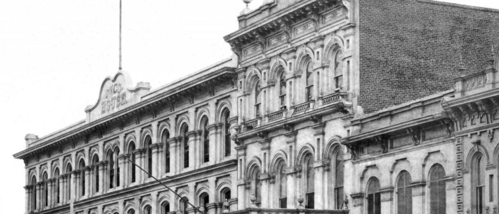Merced Theatre Vintage 1870s