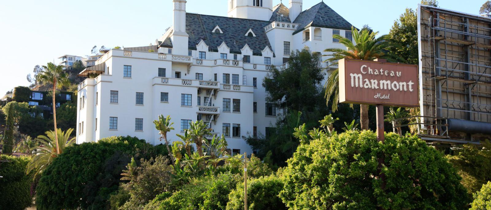 Chateau Marmont exterior