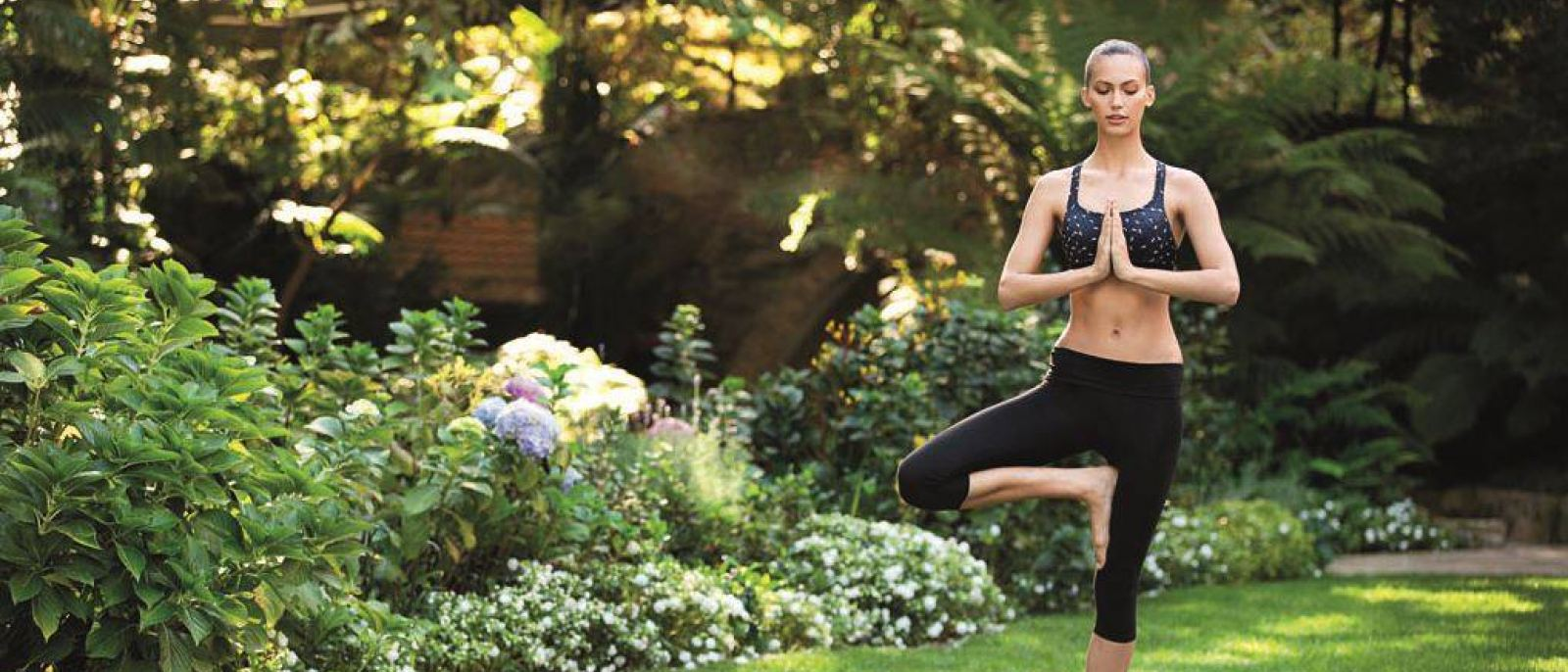 Hotel Bel-Air outdoor yoga