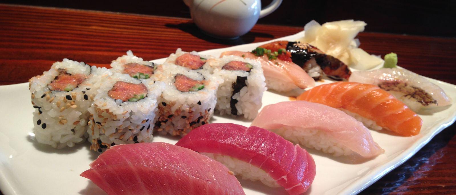 Deluxe Jou Sushi Moriwase at Kiriko