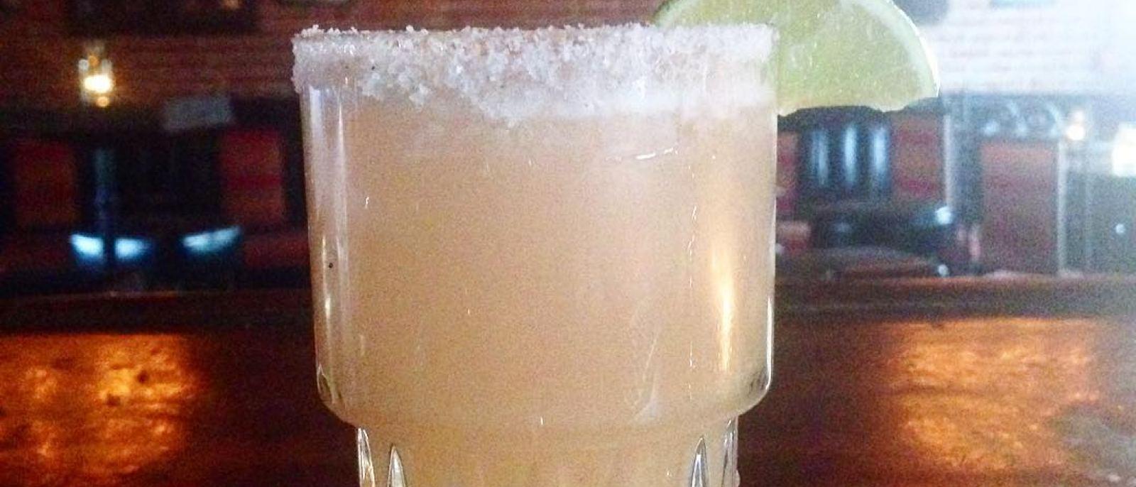 Smokey Margarita at La Cuevita