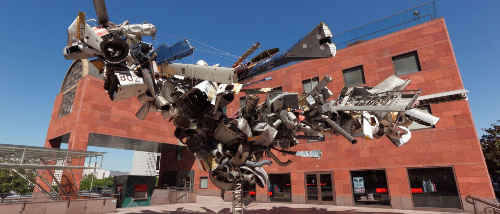 """Airplane Parts"" by Nancy Rubins at MOCA Grand Avenue"