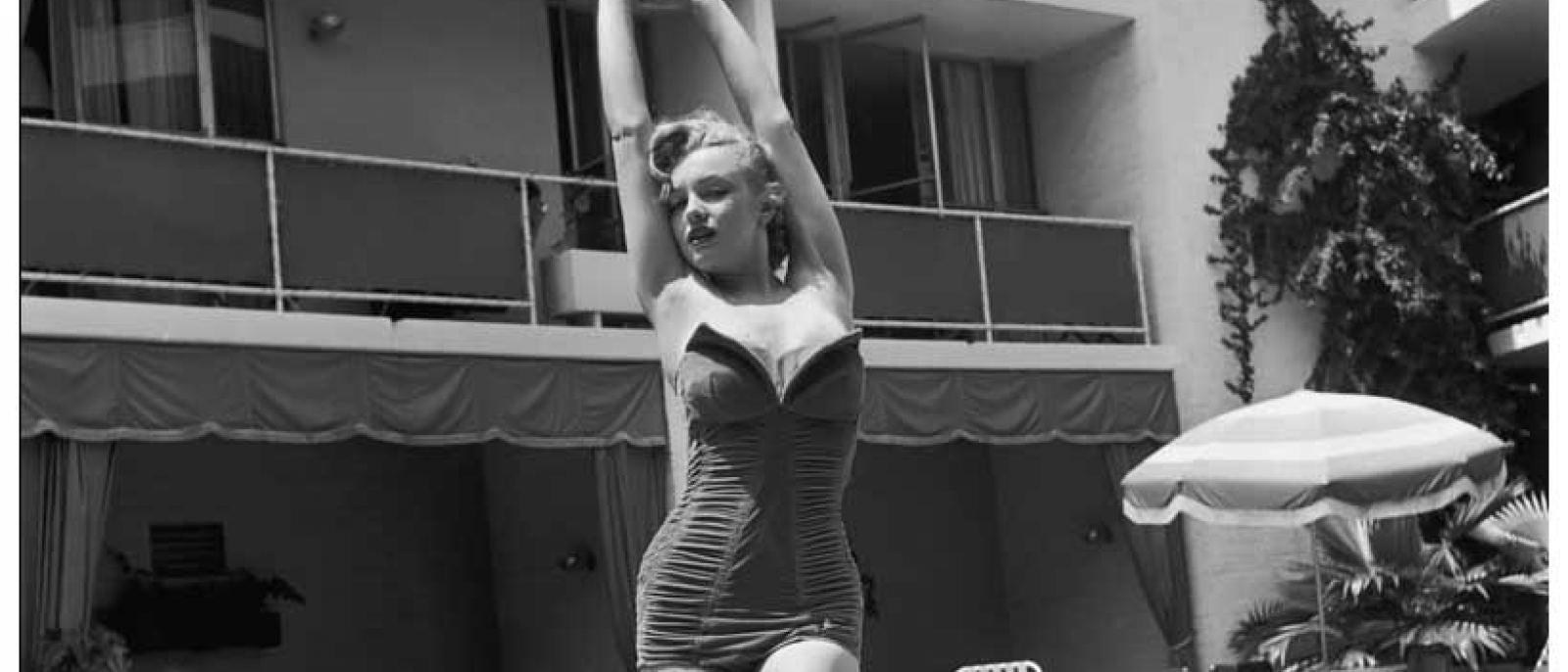 Marilyn Monroe at the Beverly Carlton Hotel (1951)