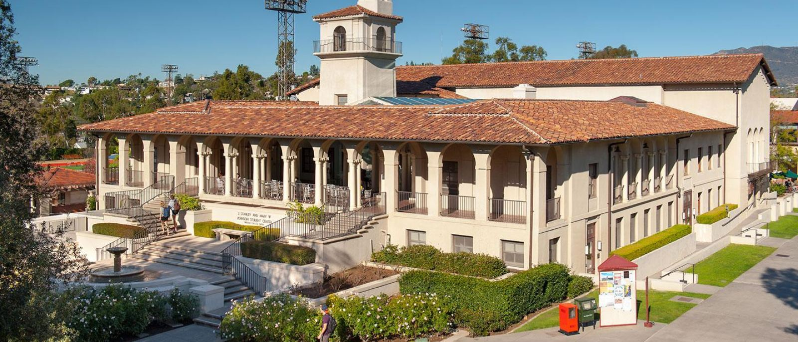 Johnson Student Center at Occidental College