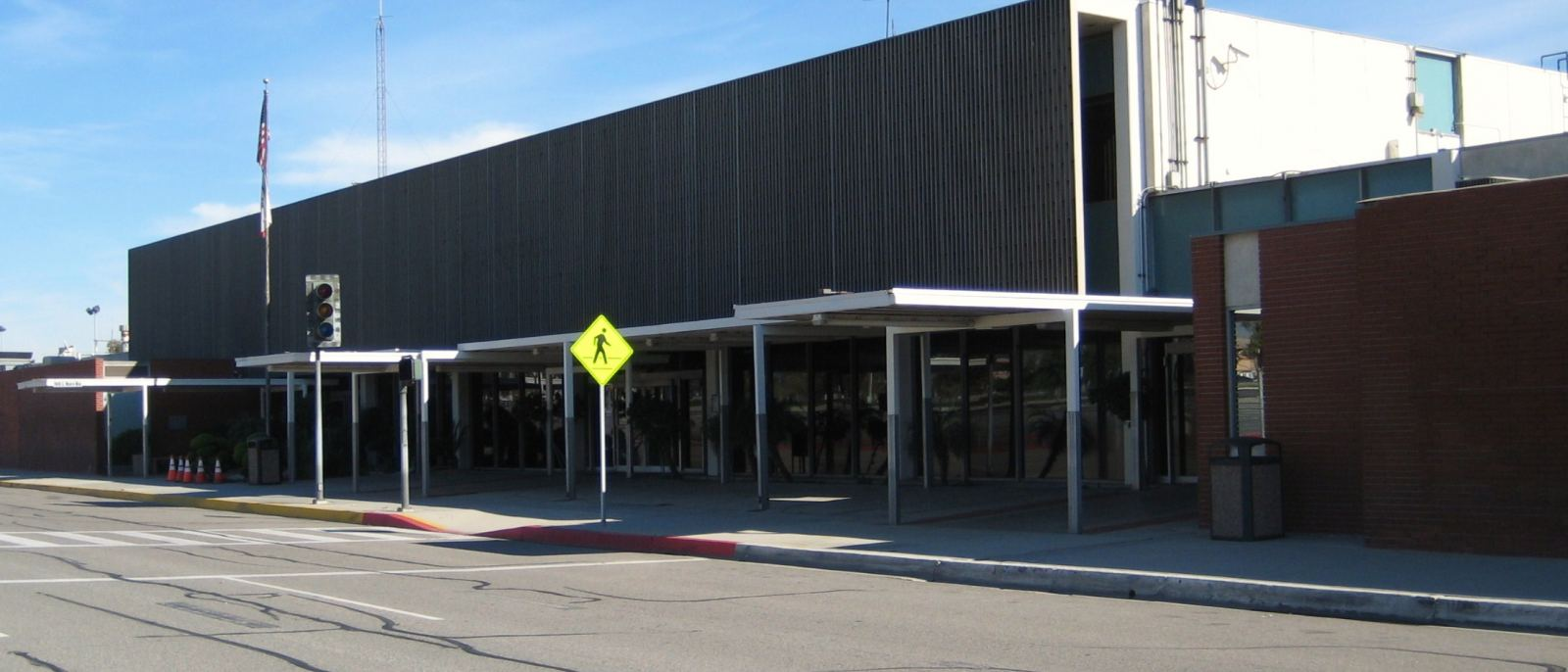 The old Terminal 1 at Ontario International Airport