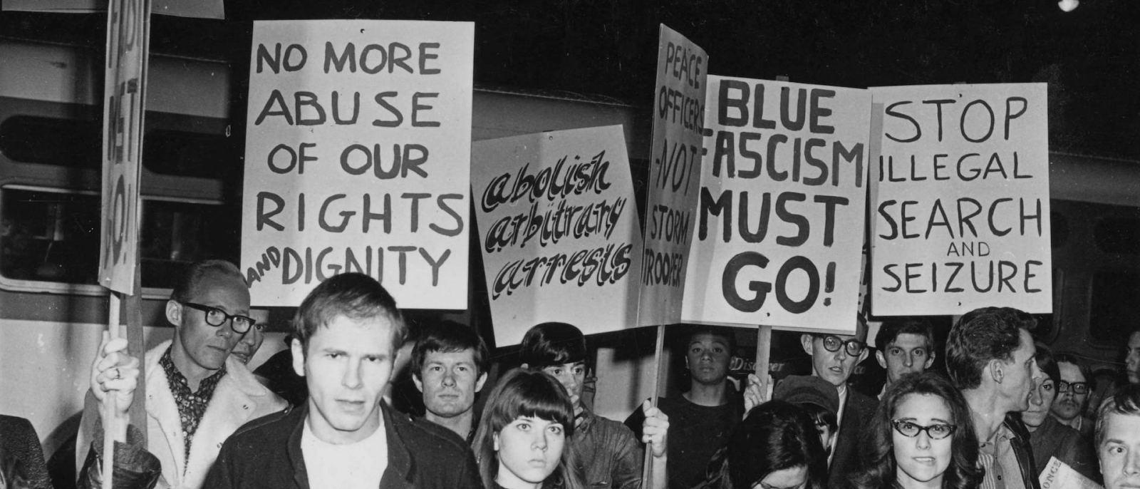 Black Cat Protests 1967