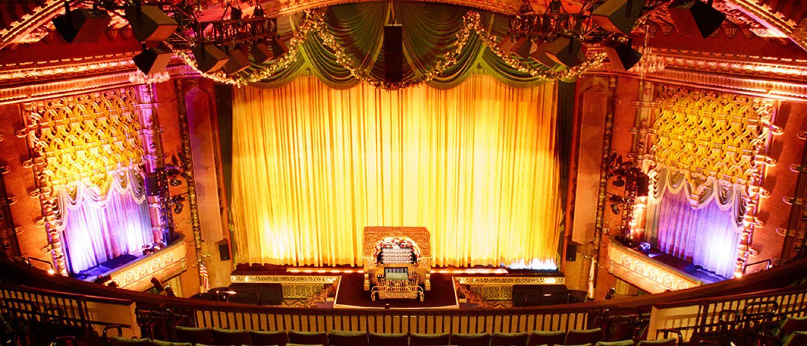Wurlitzer pipe organ | Photo courtesy of El Capitan Theatre