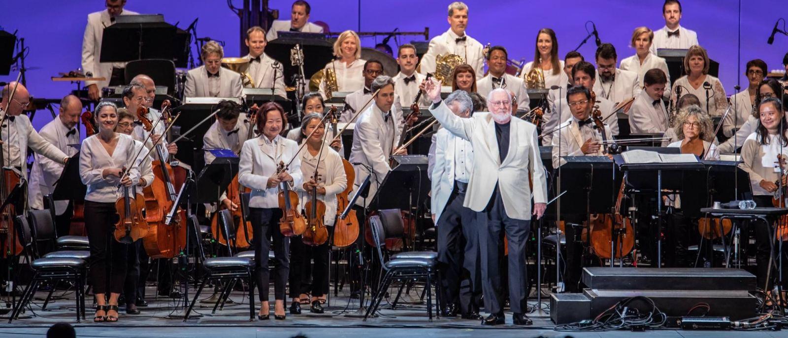 John Williams and the LA Phil at the Hollywood Bowl   Photo: Hollywood Bowl, Facebook