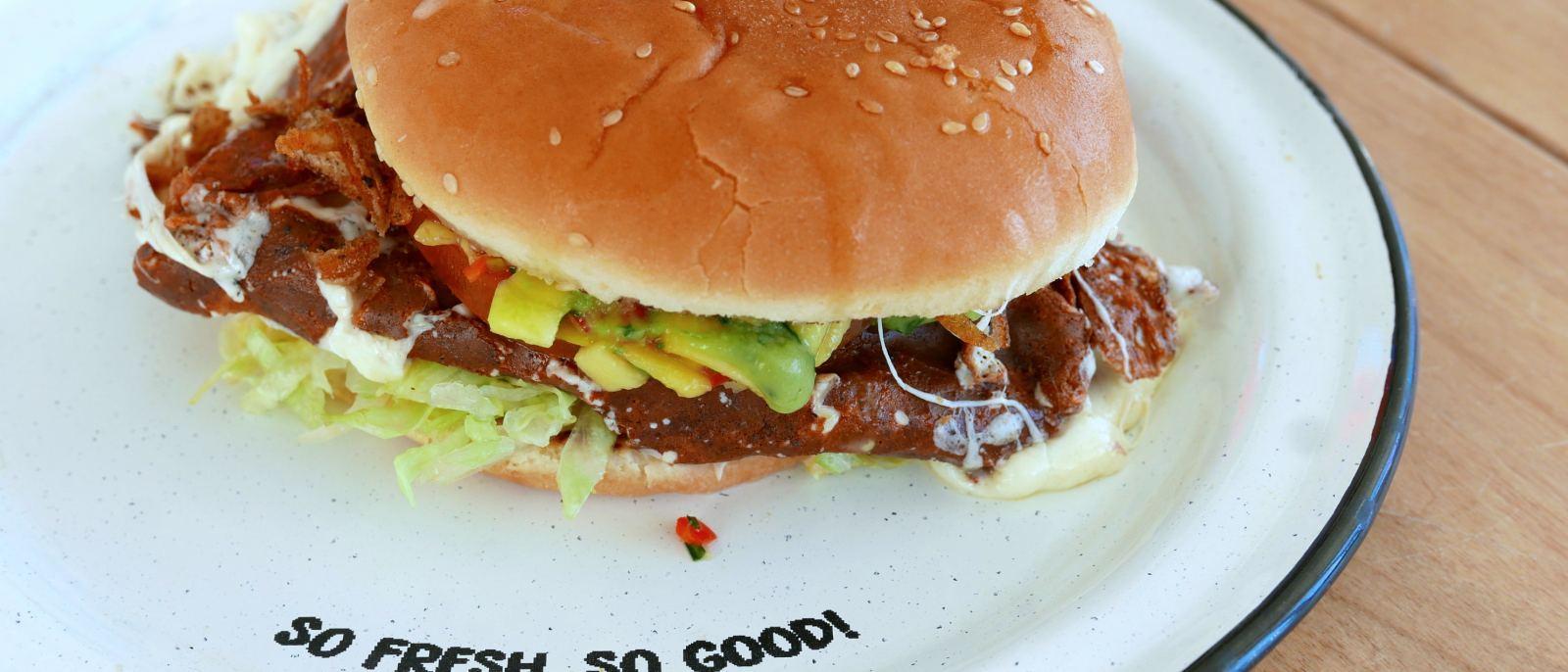 Patrona Burger at La Tostaderia