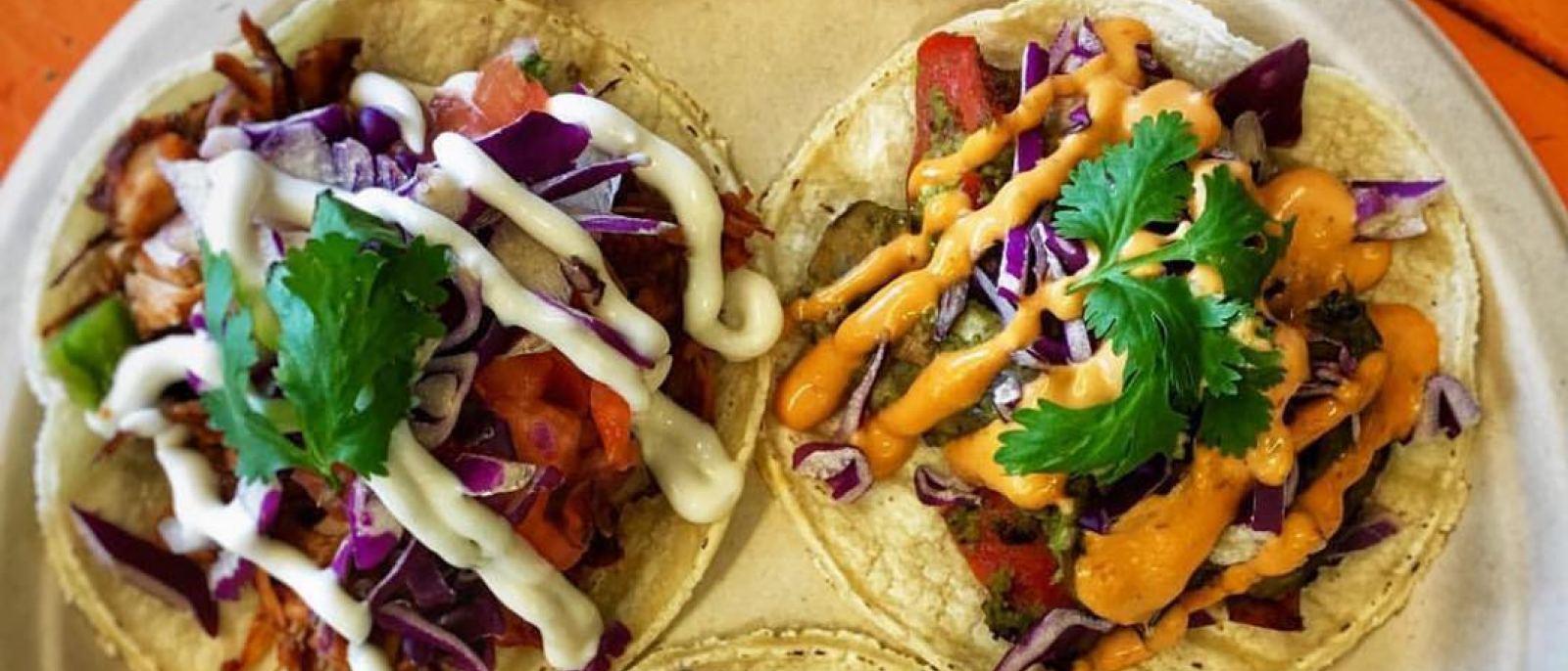 Vegan Tacos at Organix