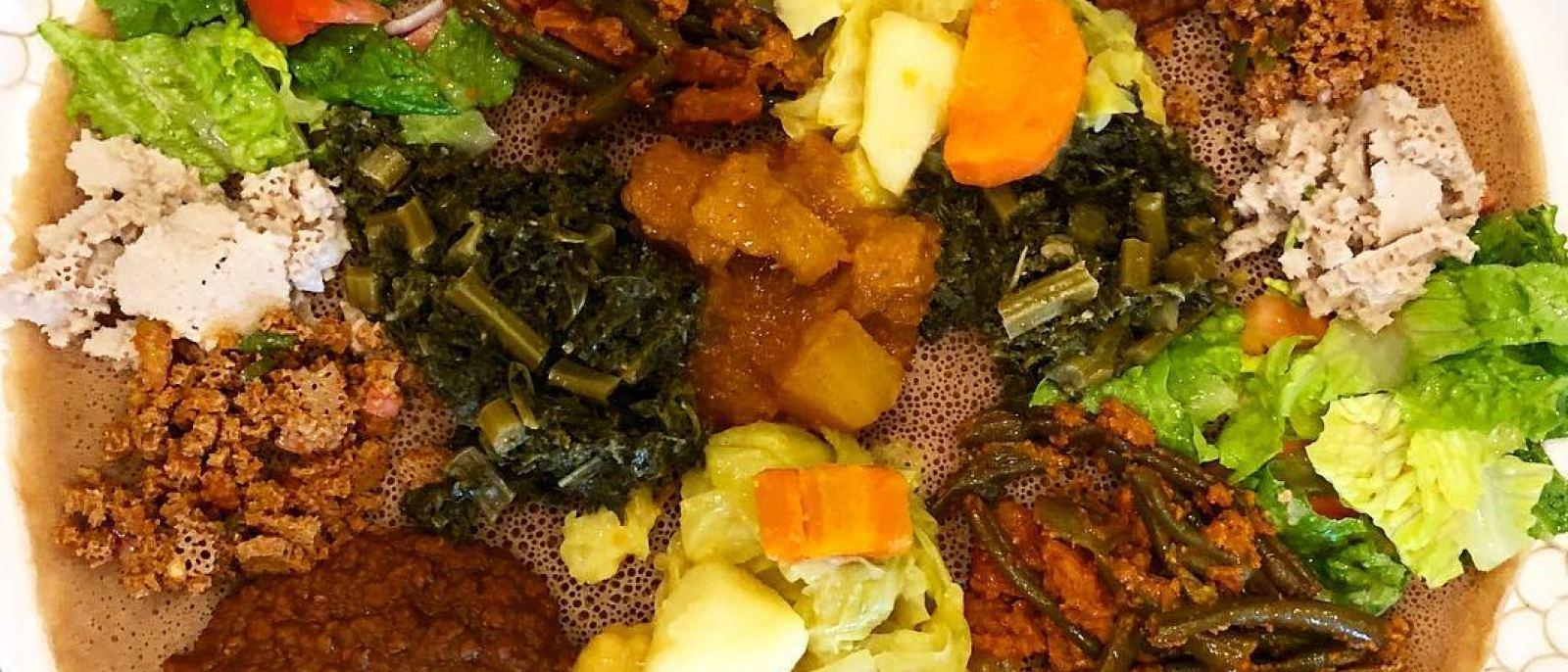 Millennium Special at Rahel Ethiopian Vegan Cuisine