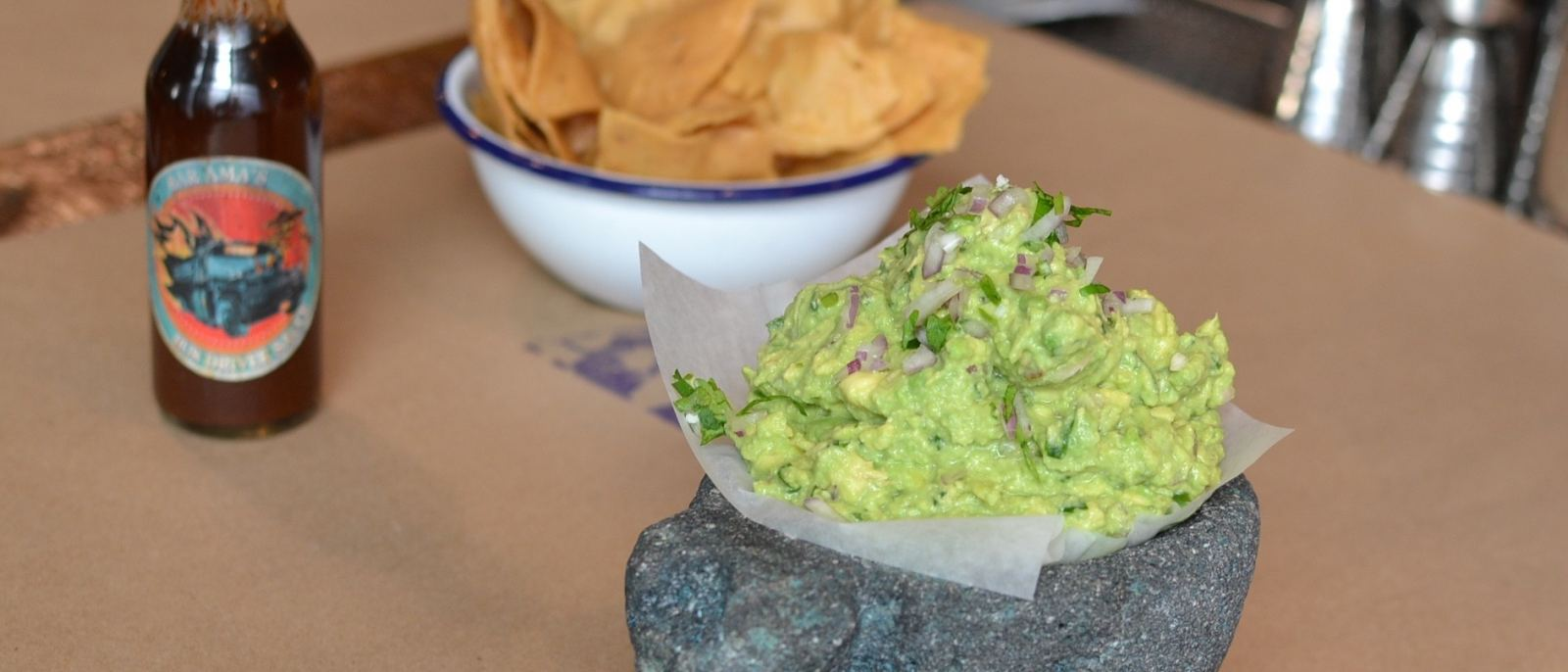 Made-To-Order Guacamole at Bar Ama