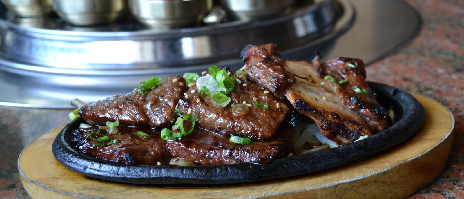 Short ribs at Genwa Korean BBQ | Photo by Joshua Lurie