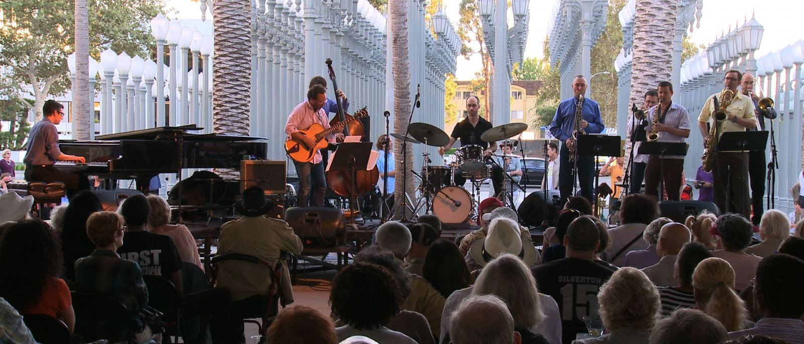 Anthony Wilson Nonet performs at Jazz at LACMA | Photo: LACMA