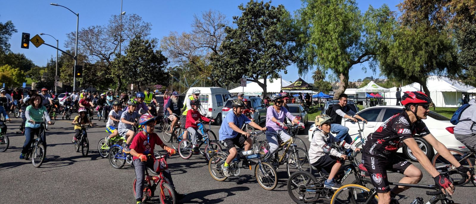 Monterey Park Earth Day Bike Ride