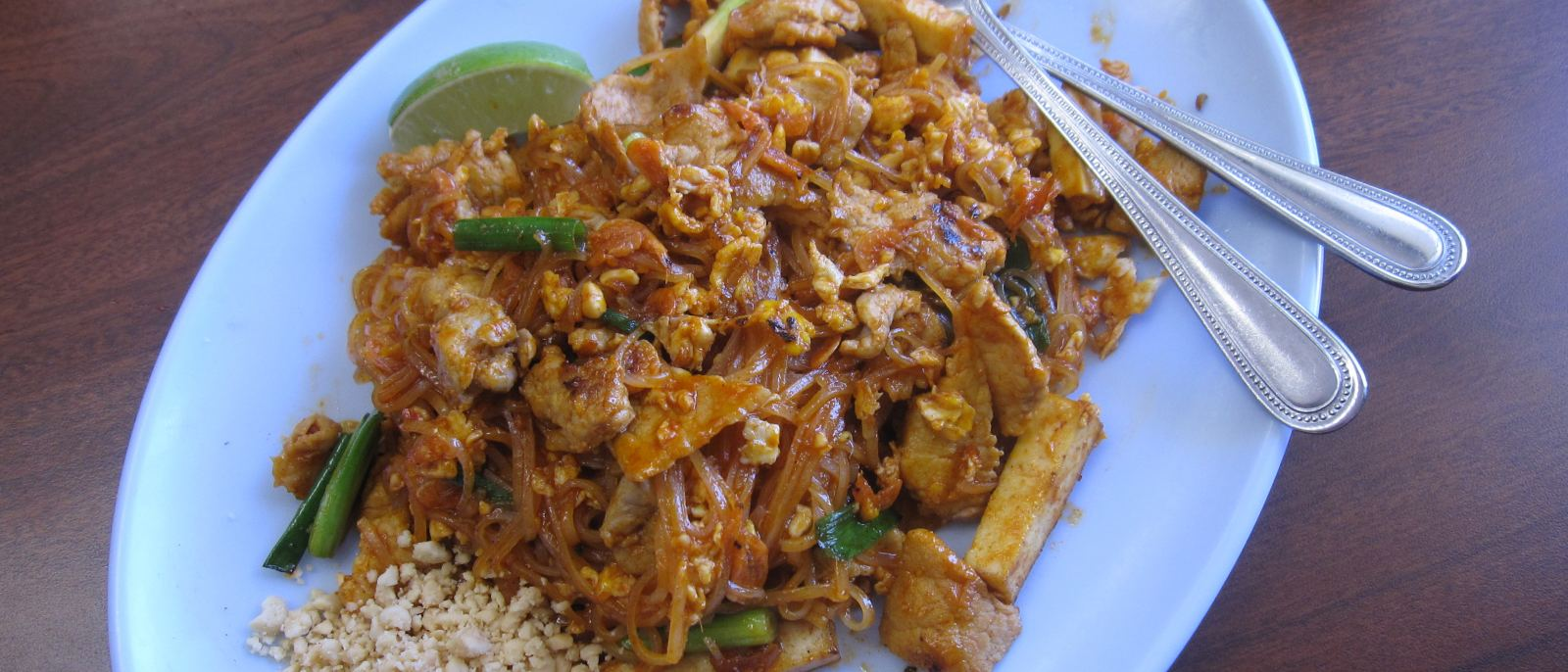 Pad Thai at Pa Ord Noodle in Thai Town