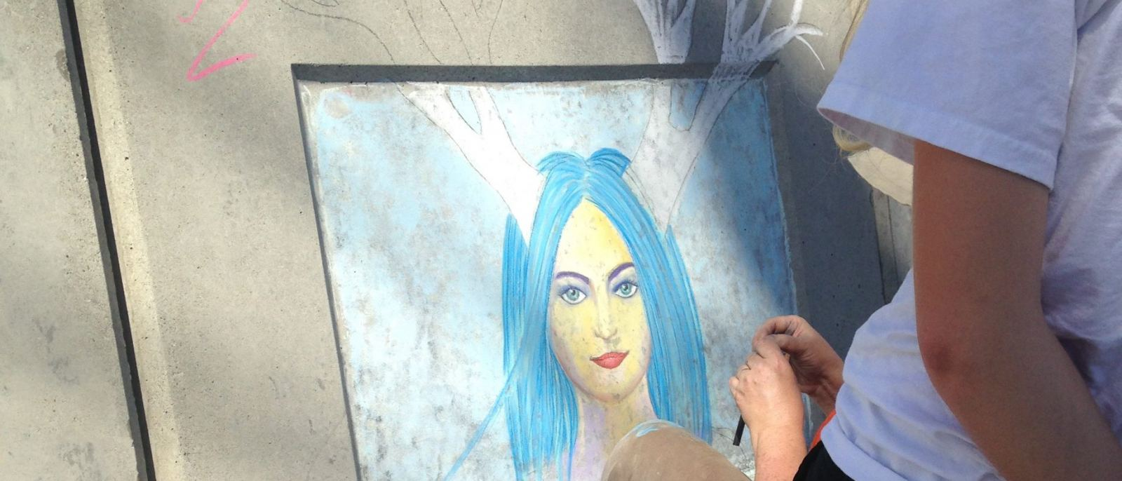 Earth Day Chalk Art Challenge in Redondo Beach