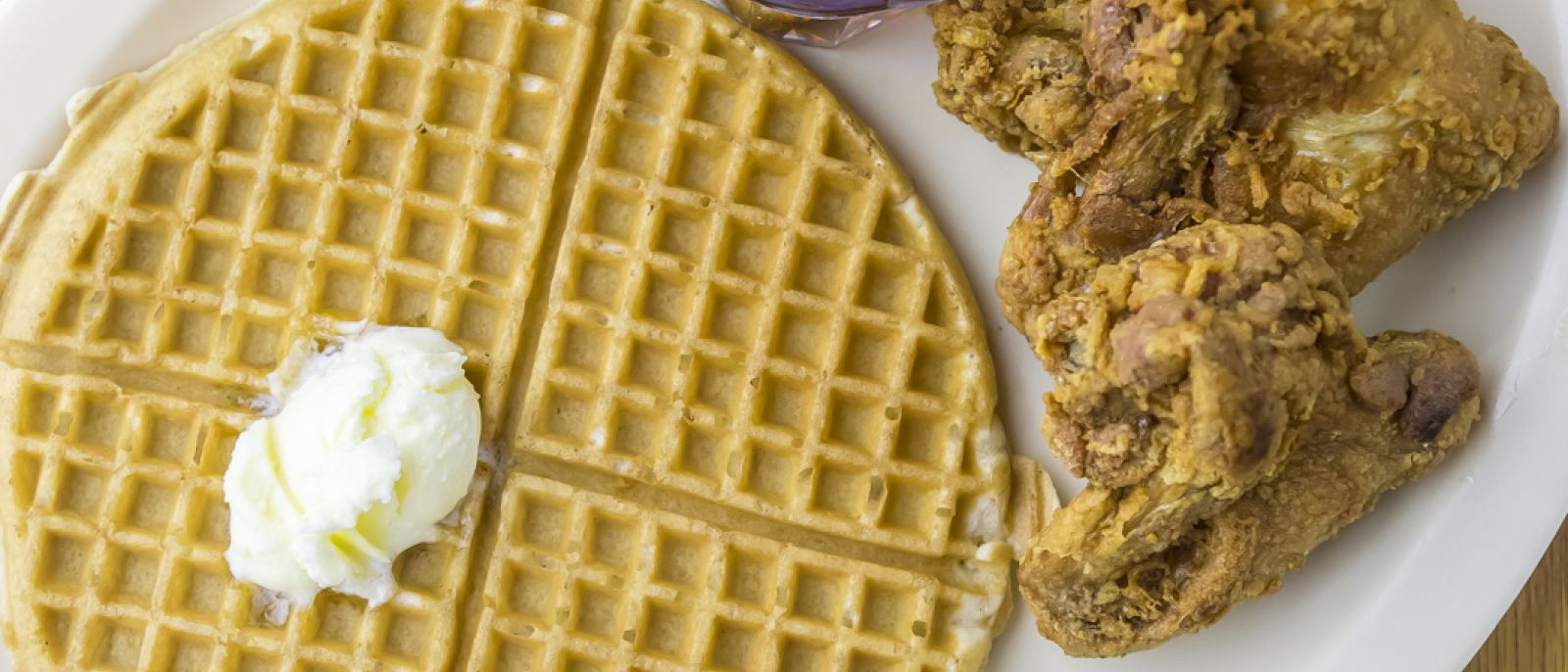 Obama's Special at Roscoe's House of Chicken and Waffles