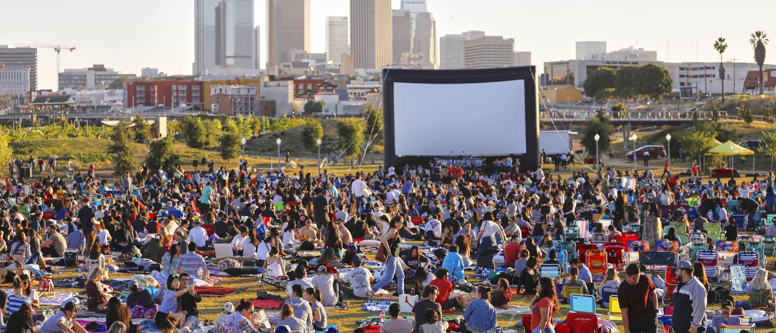 Street Food Cinema at Los Angeles State Historic Park