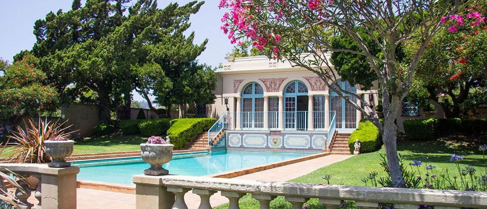 Virginia Robinson Gardens mansion