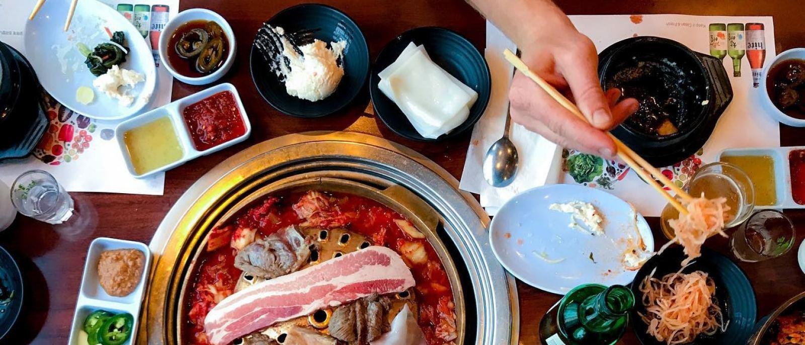 Yang San Bak in Koreatown | Photo: @michiiielliott, Instagram
