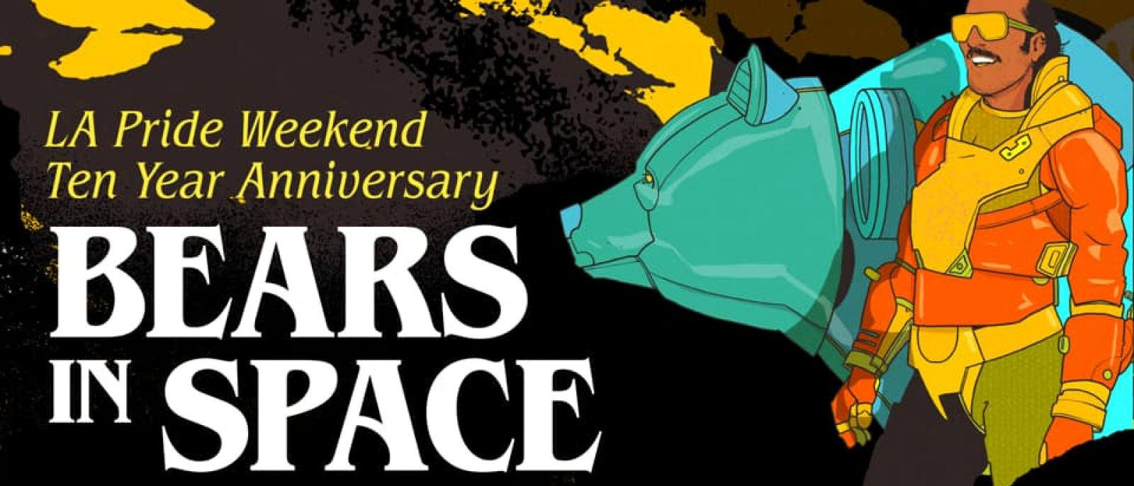 Akbar Bears in Space 10th Anniversary