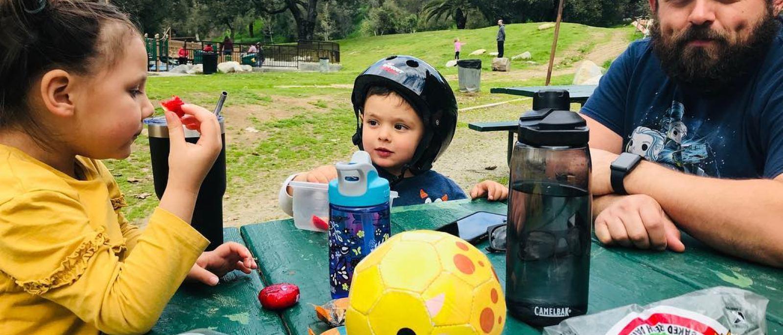 Picnicat Brookside Park in Pasadena
