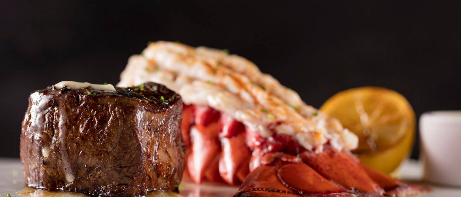 Filet & Lobster at Fleming's Prime Steakhouse & Wine Bar