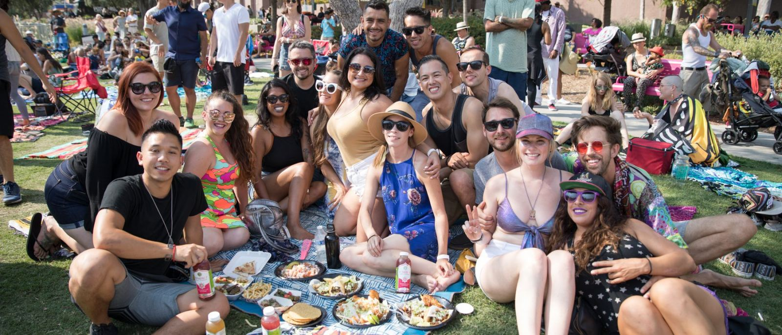 Picnic at Grand Park Sunday Sessions