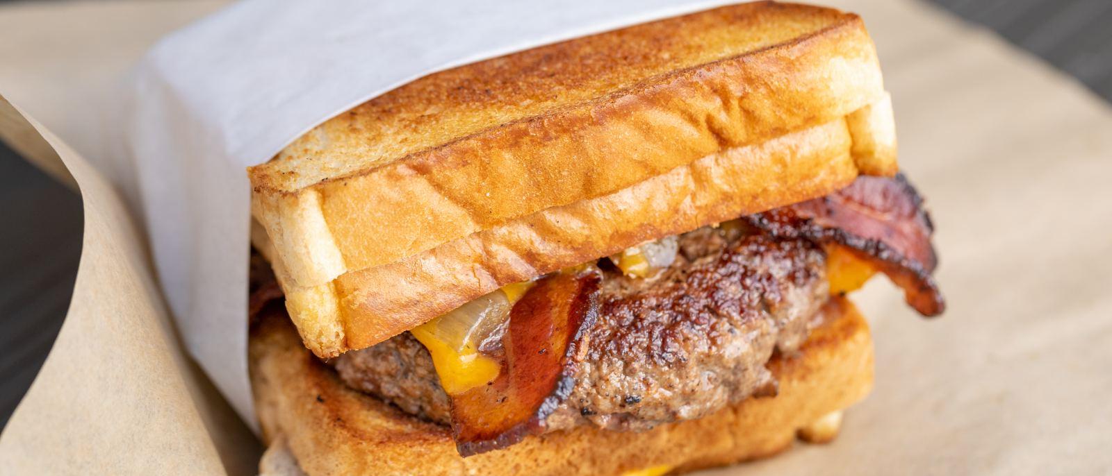 Behemoth Burger at Grill 'Em All in Alhambra