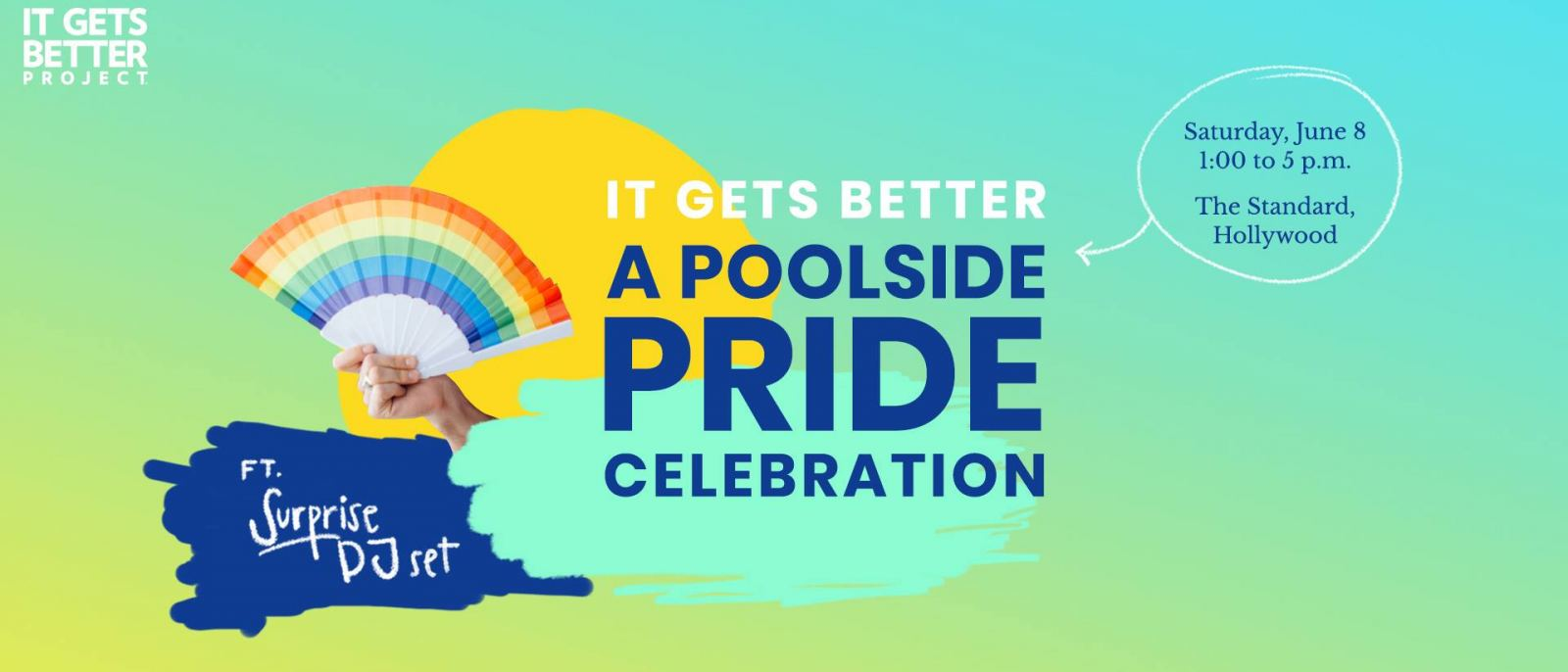 It Gets Better: A Poolside Pride Celebration 2019