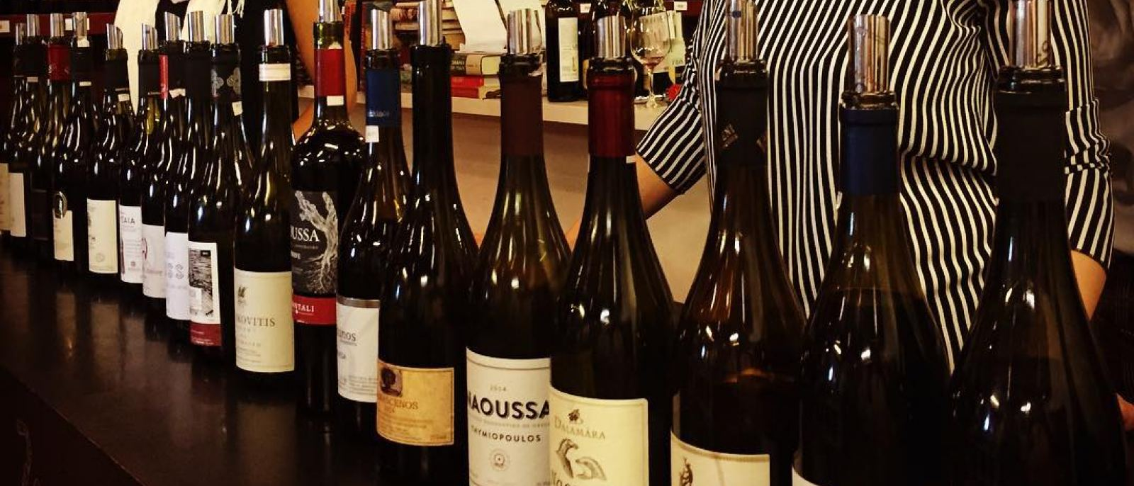 Naoussa wine tasting at Lou Wine Shop in Los Feliz