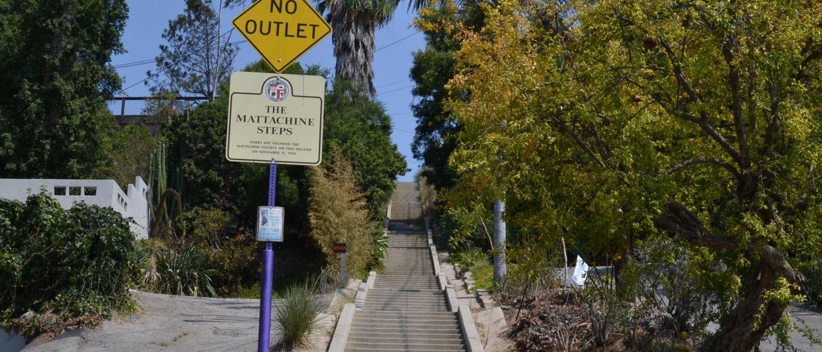 The Mattachine Steps in Silver Lake