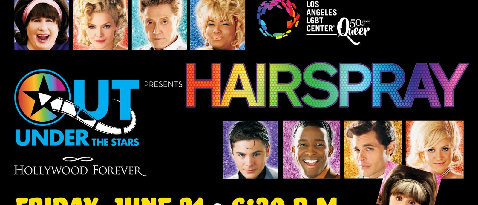 "OUT Under the Stars: ""Hairspray"" at Hollywood Forever"