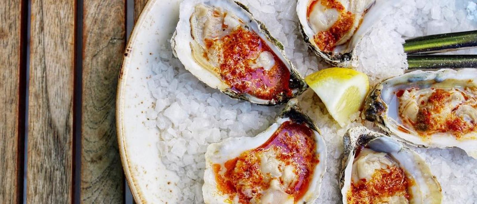 Rappahannock Oyster Bar DTLA grilled oysters