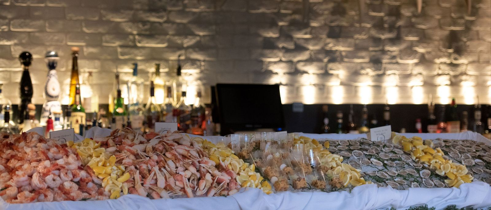 STK Steakhouse buffet raw bar