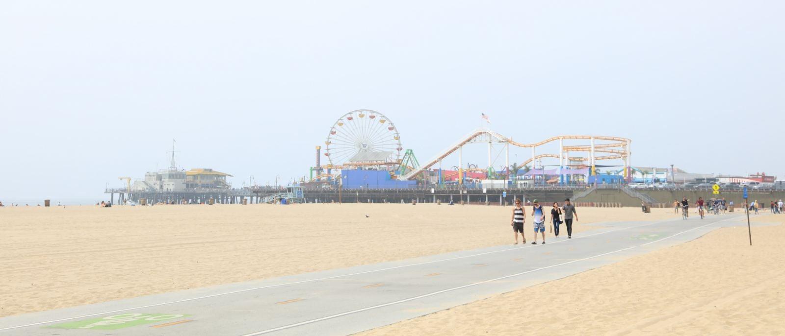 Santa Monica Pier The Strand